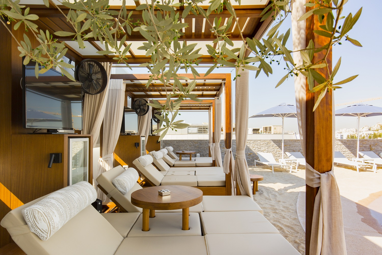 Airotel Alexandros : New Rooftop Pool