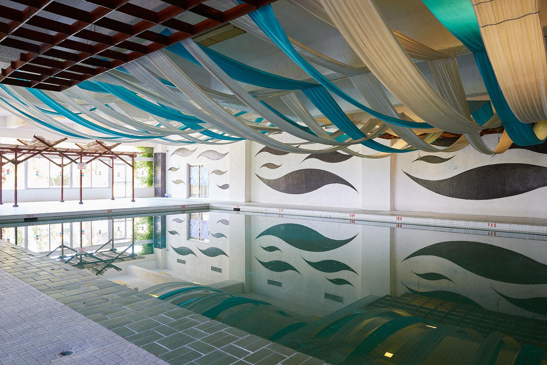 Athos Palace Hotel: Indoor Pool