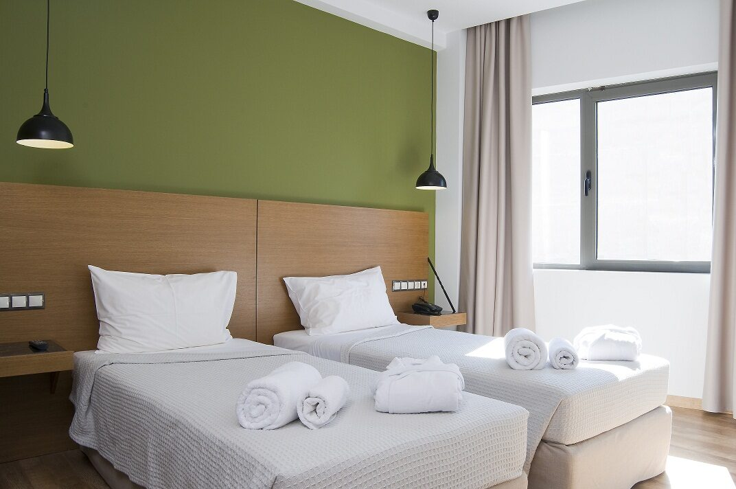 A For Athens Hotel: Room Double or Twin CITY VIEW