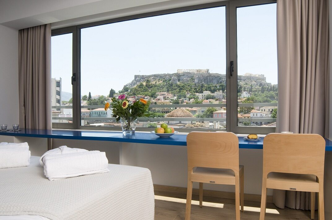 A For Athens Hotel: Room Double or Twin DELUXE WITH VIEWS