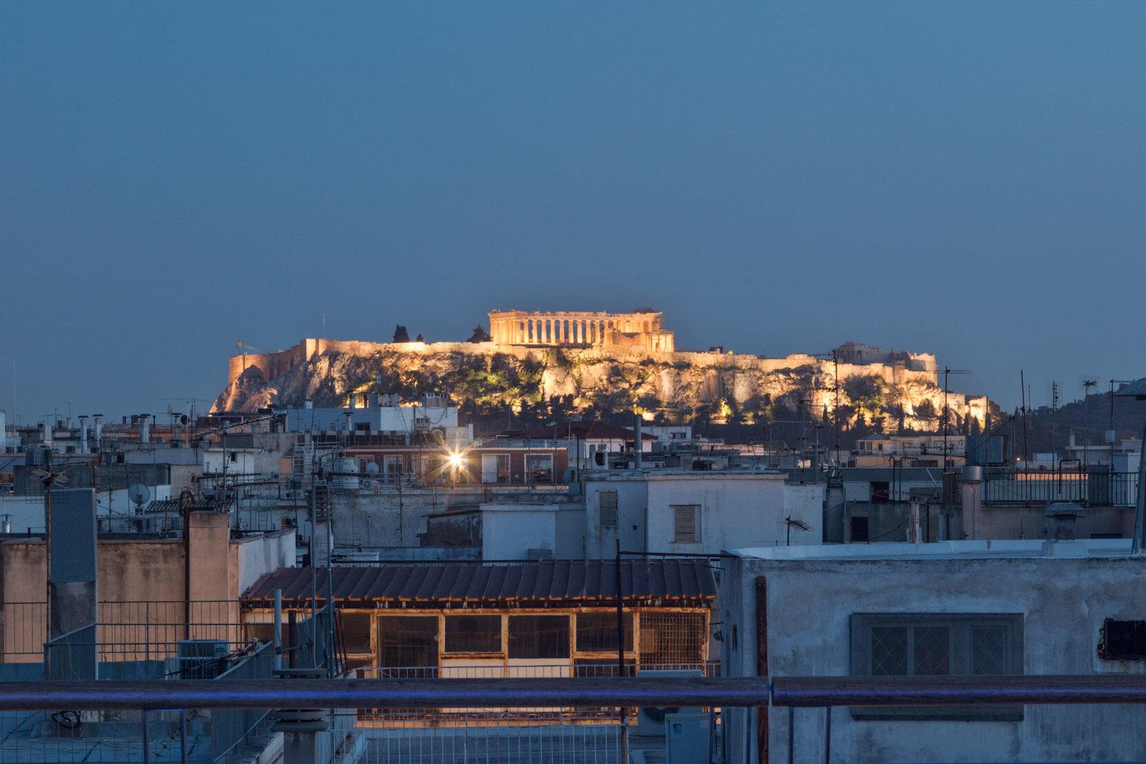 Melia Athens: Terrace