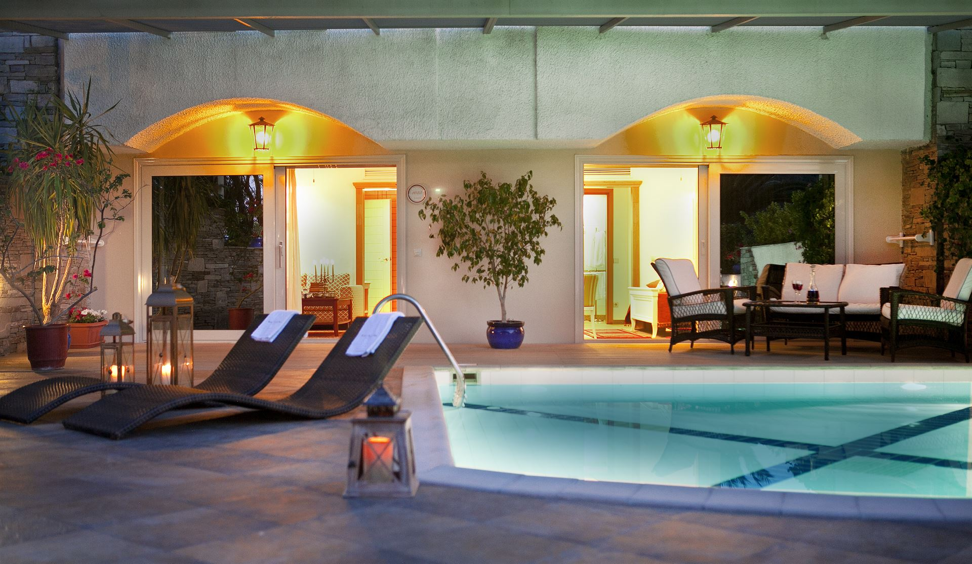 Theophano Imperial Palace: Grand Pool Suite