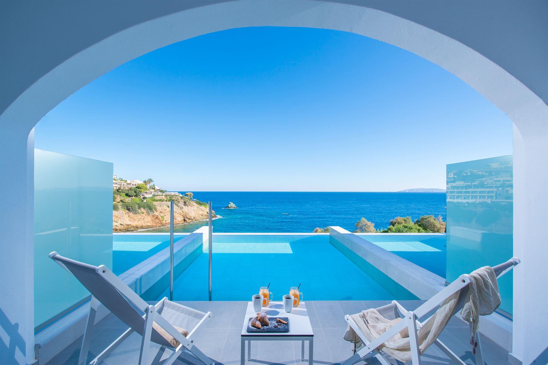 Peninsula Resort & Spa : Double Superior Private Pool