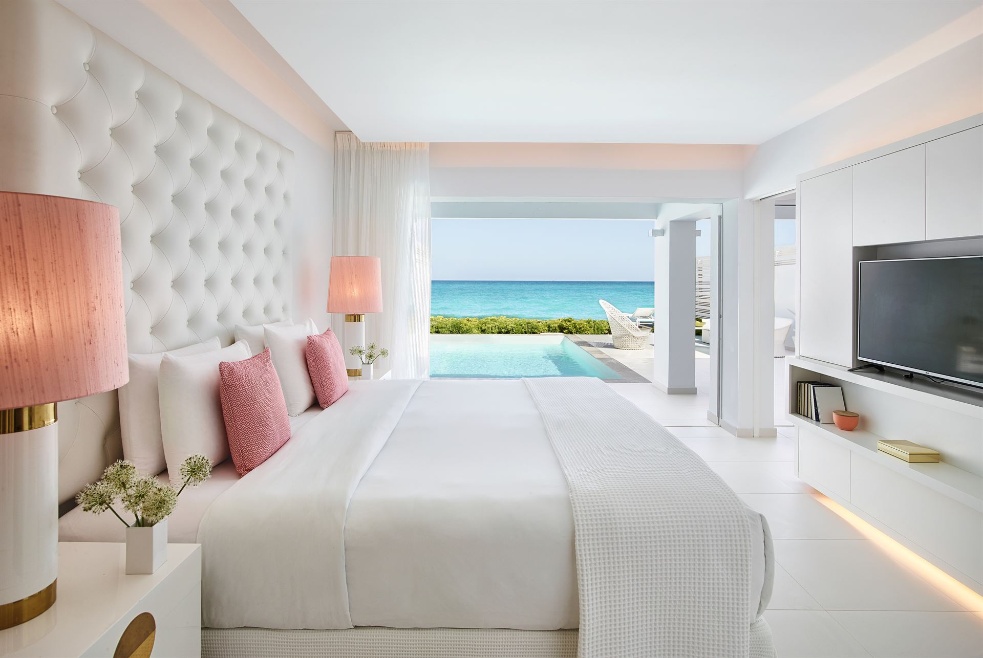 Grecotel LUX ME White Palace: Villa Luxe Yali SF PP