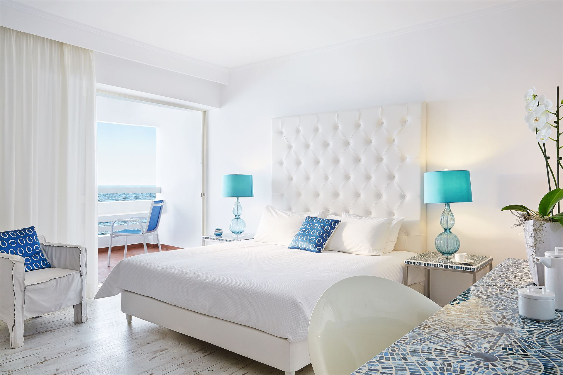 Grecotel LUX ME White Palace: Superior SEa View Room