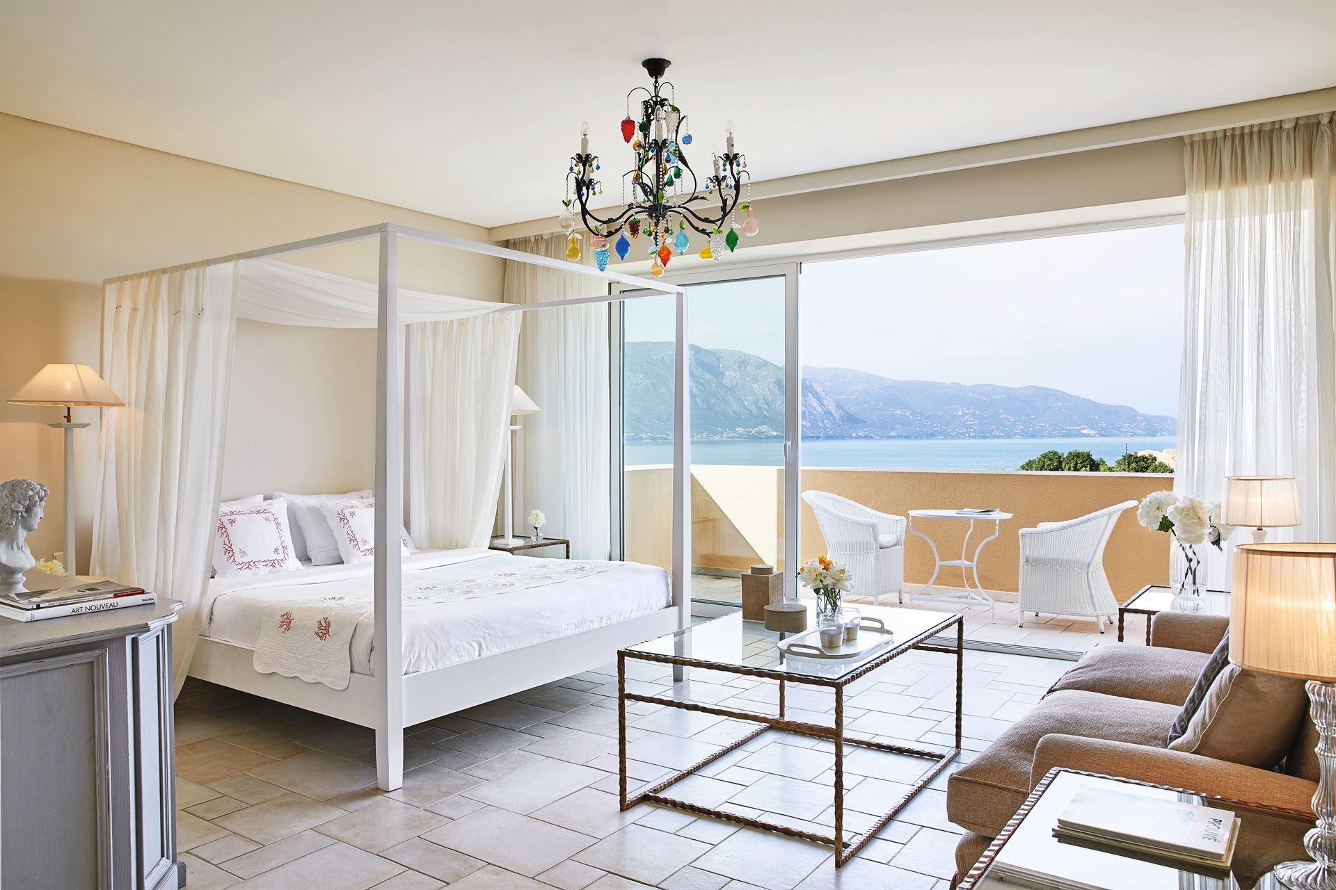 Grecotel Eva Palace: Junior Suite Frontal Panoramic SV