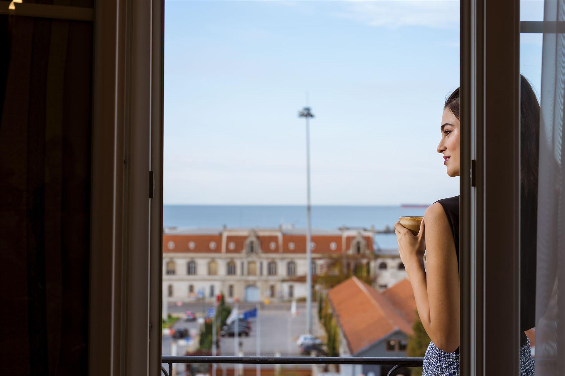 Mediterranean Palace Hotel: Balcony SV
