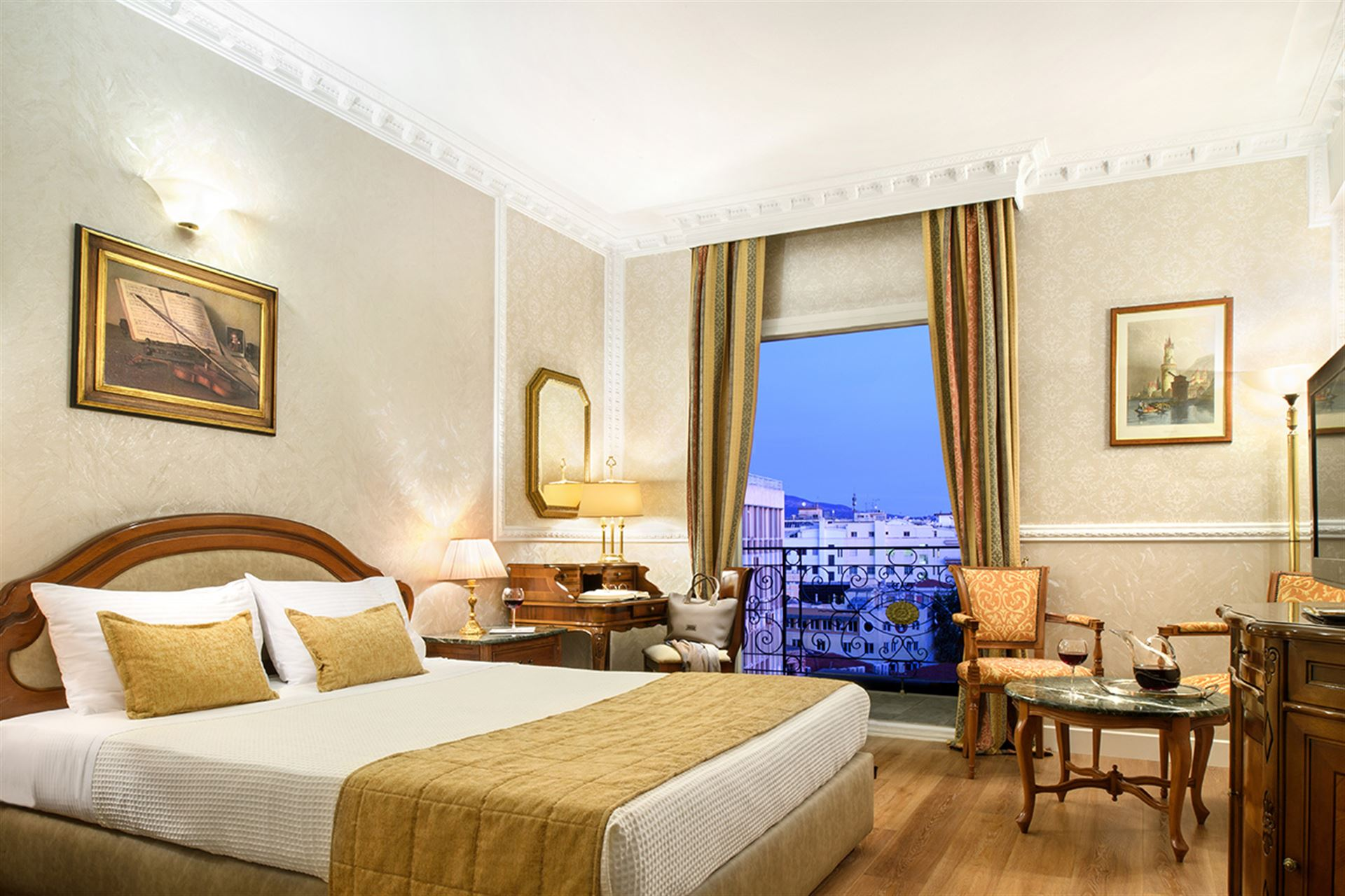 Mediterranean Palace Hotel: Superior Double