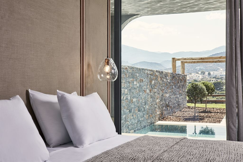 Minos Palace Hotel & Suites: Suite Waterfall