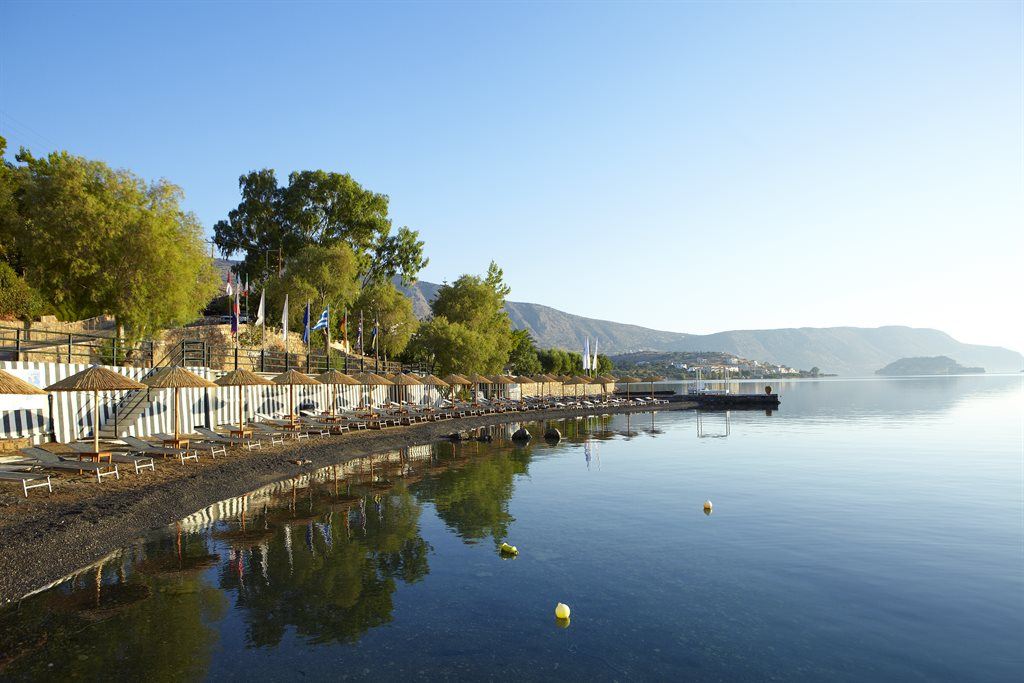 Elounda Blu Hotel: Beach