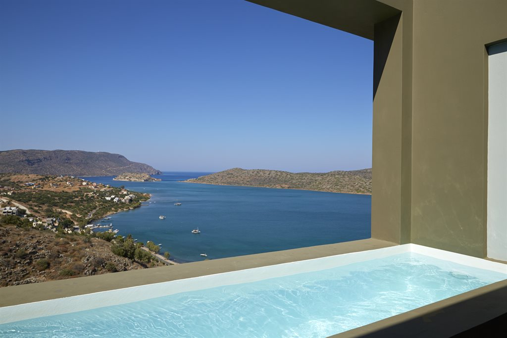 Elounda Blu Hotel: Premium Suite with Private Pool View