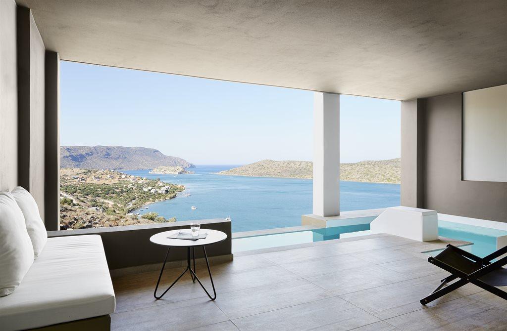 Elounda Blu Hotel: Premium Suite Private Pool Balcony