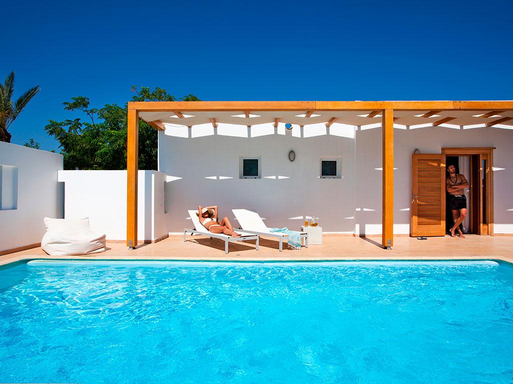Minos Beach Art Hotel: One Bedroom Villa