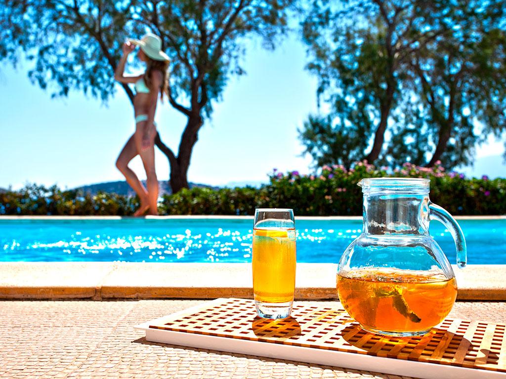 Minos Beach Art Hotel: Villa One Bedroom