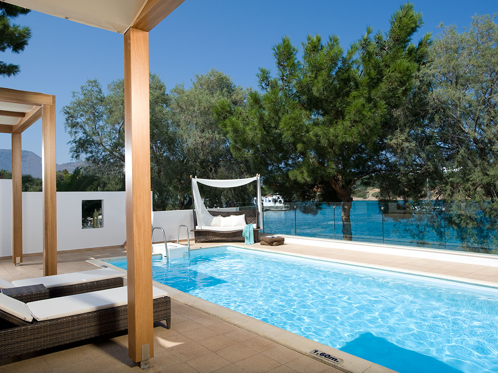Minos Beach Art Hotel: Villa