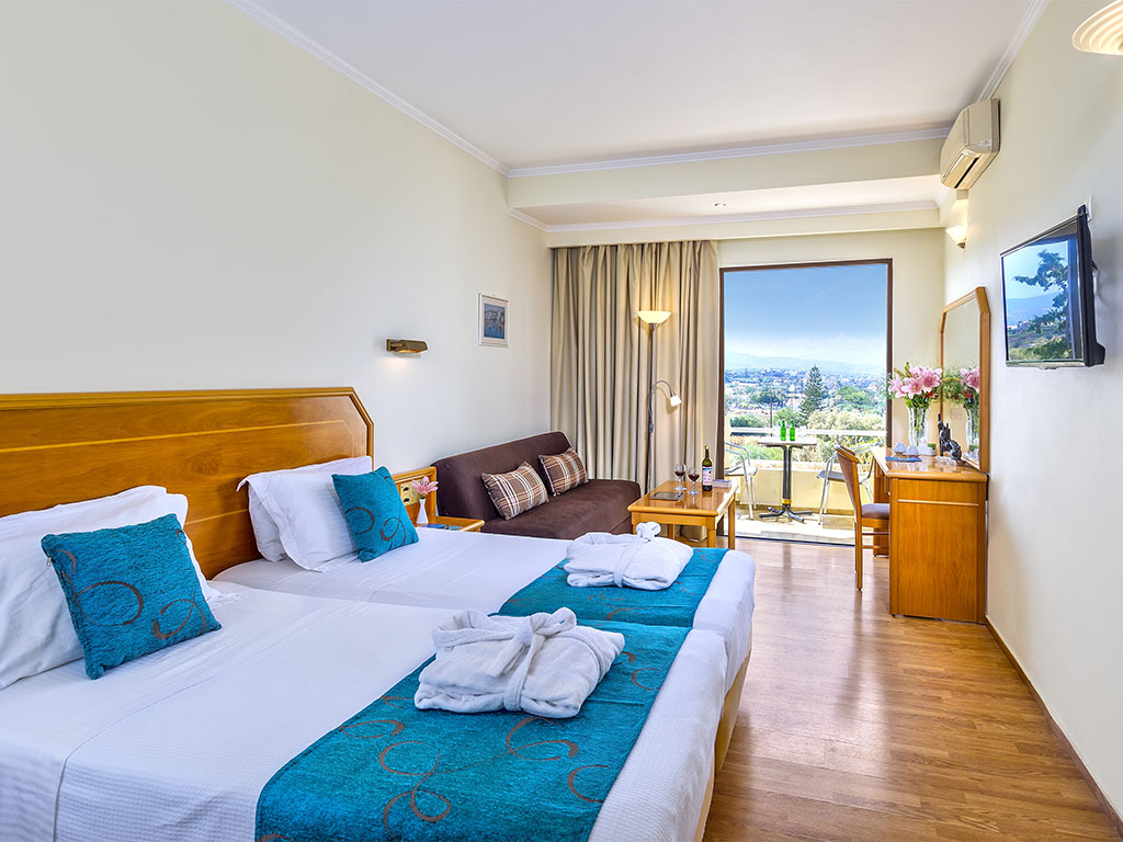 Rethymno Mare & Water Park: Deluxe with Jacuzzi