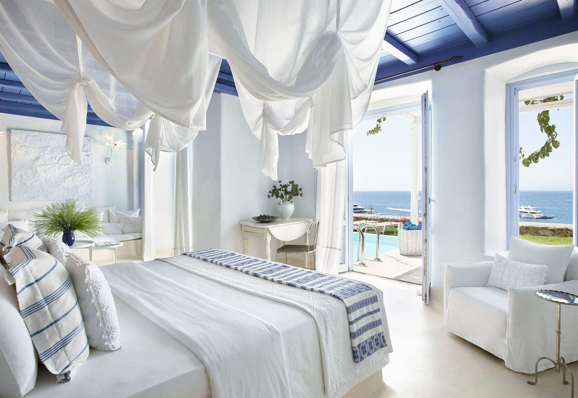 Mykonos Blu Grecotel Exclusive Resort: Cobalt Blu Villa