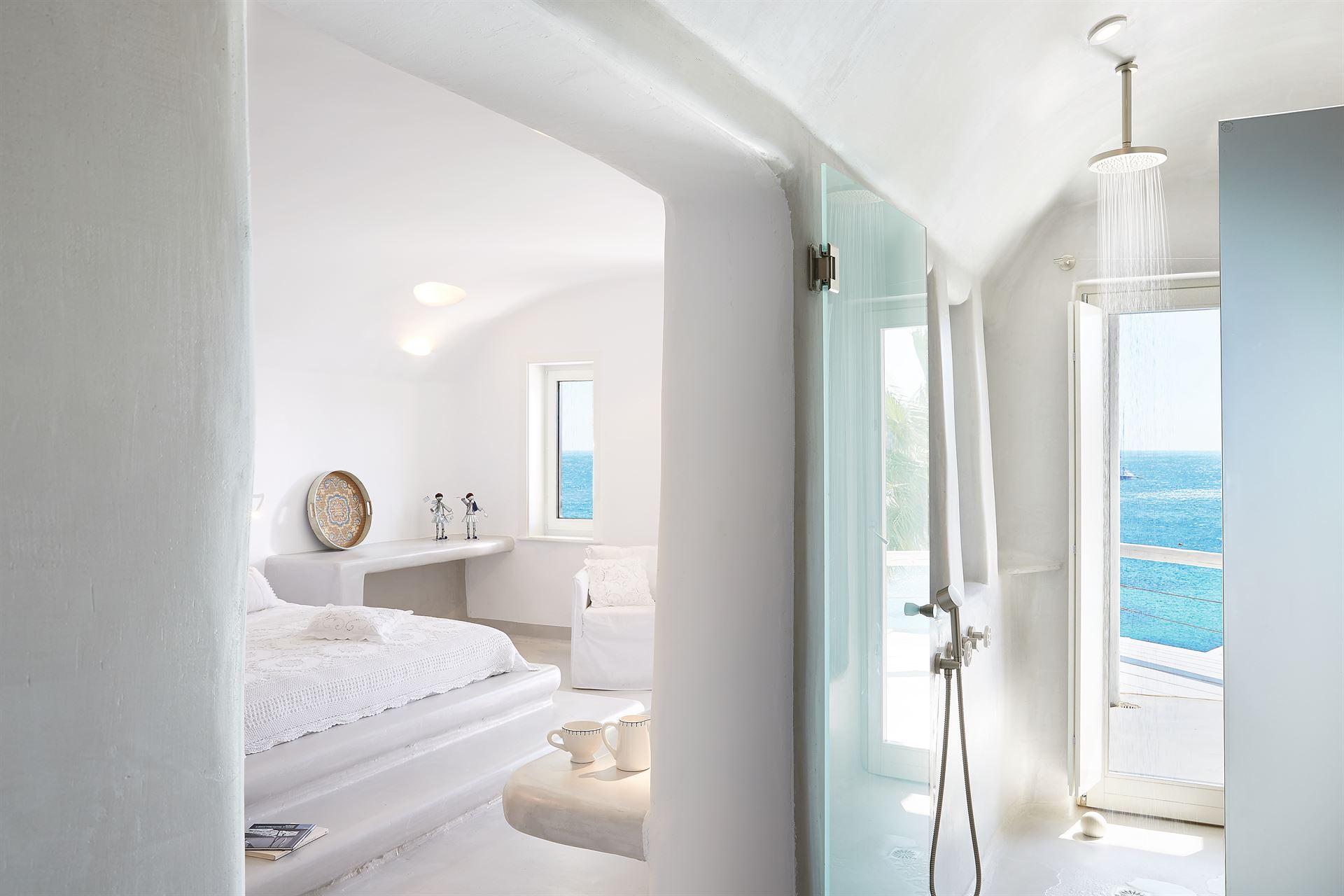 Mykonos Blu Grecotel Exclusive Resort: Water Front Bungalow