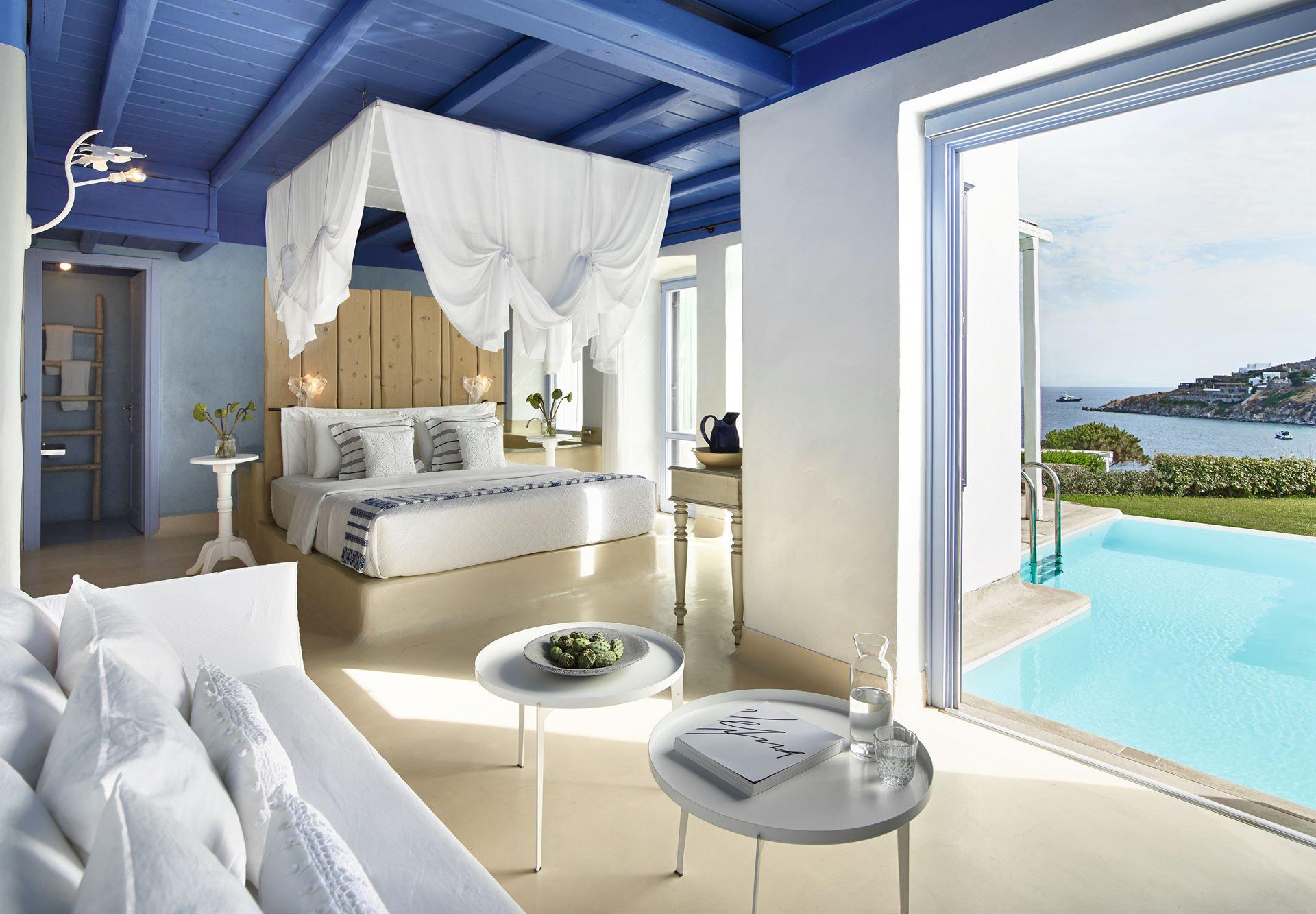 Mykonos Blu Grecotel Exclusive Resort: Endless Blu Villa PP