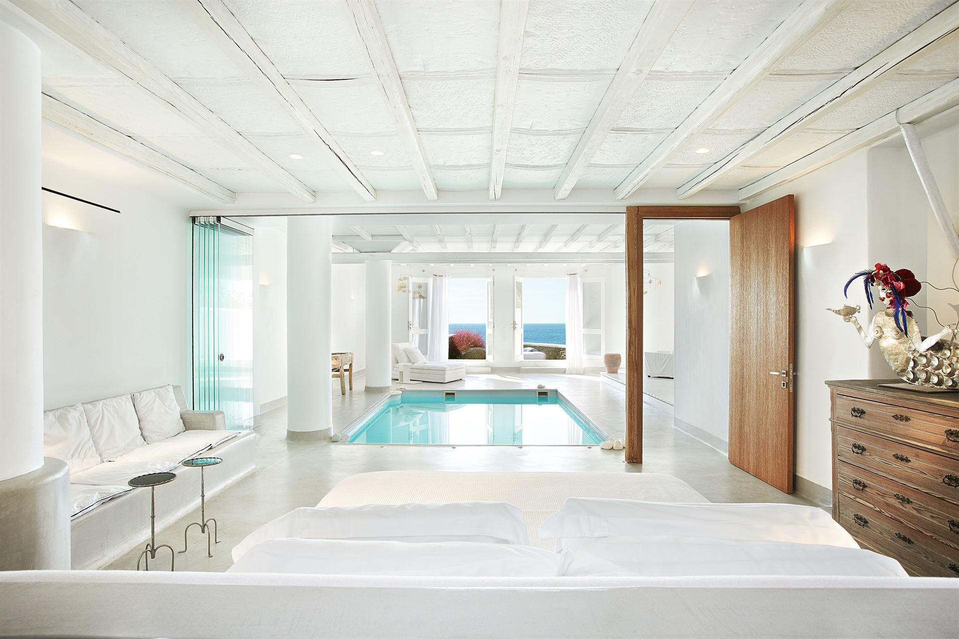 Mykonos Blu Grecotel Exclusive Resort: Luna Blu Suite PP