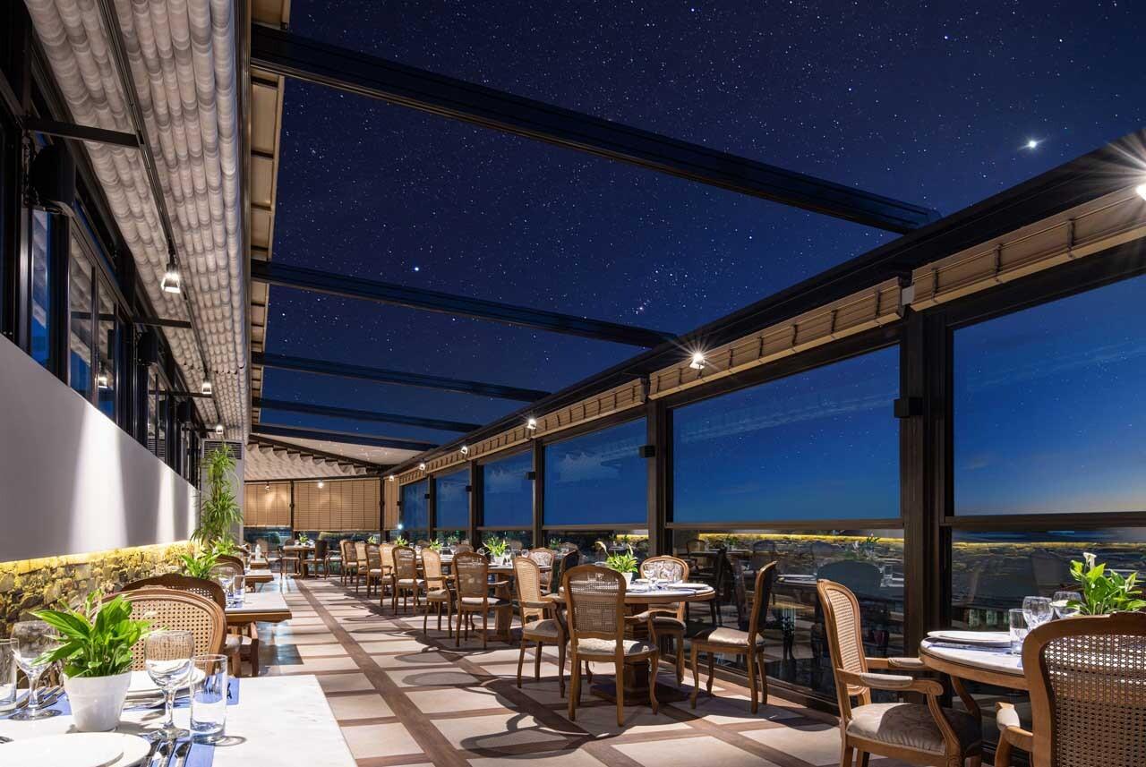 Anthemus Sea Beach Hotel & SPA: main restaurant