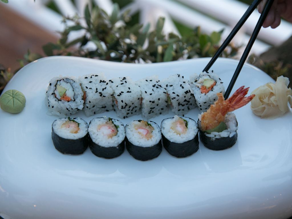 Pomegranate Wellness Spa Hotel: Sushi Degustation