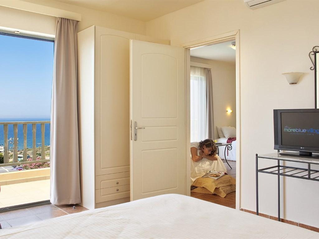 Mareblue Village Resort & Aquapark: Family Separate Bedroom