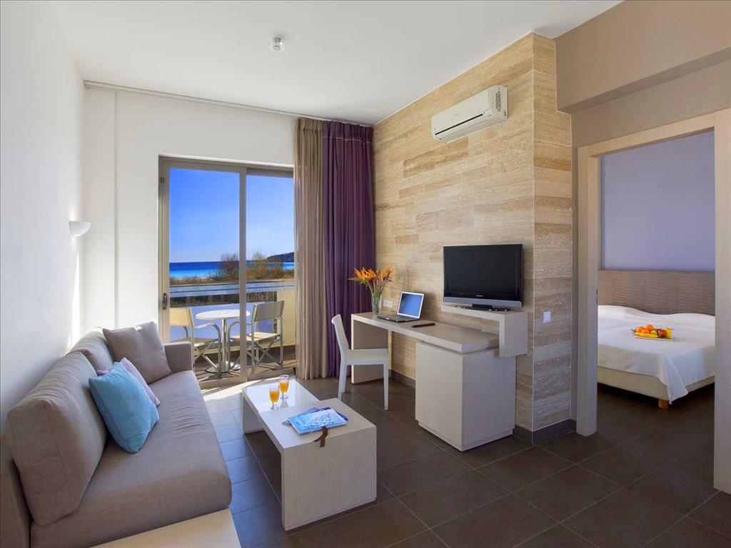 Mikri Poli Rhodes Resort: Suite SSV Living Room