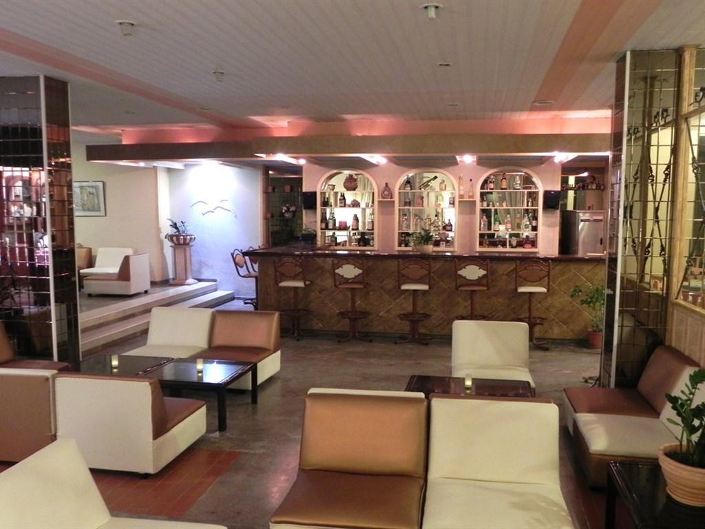 Albatros Hotel: Lobby and bar