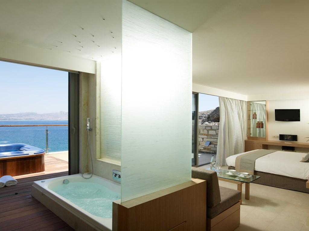 Lindos Blu Luxury Hotel & Suites: Double Deluxe