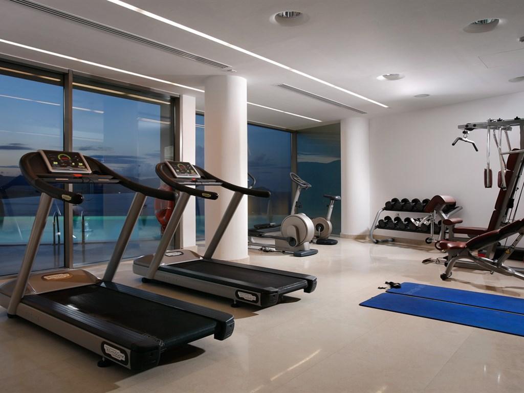 Lindos Blu Luxury Hotel & Suites: Gym