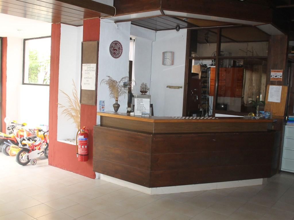 Le Mirage Hotel: Reception