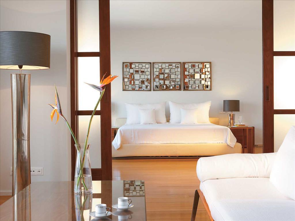 Amirandes Grecotel Exclusive Resort: Royal Villa Master Bedroom Suite & Lounge