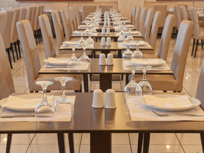 Heronissos Hotel: Restaurant