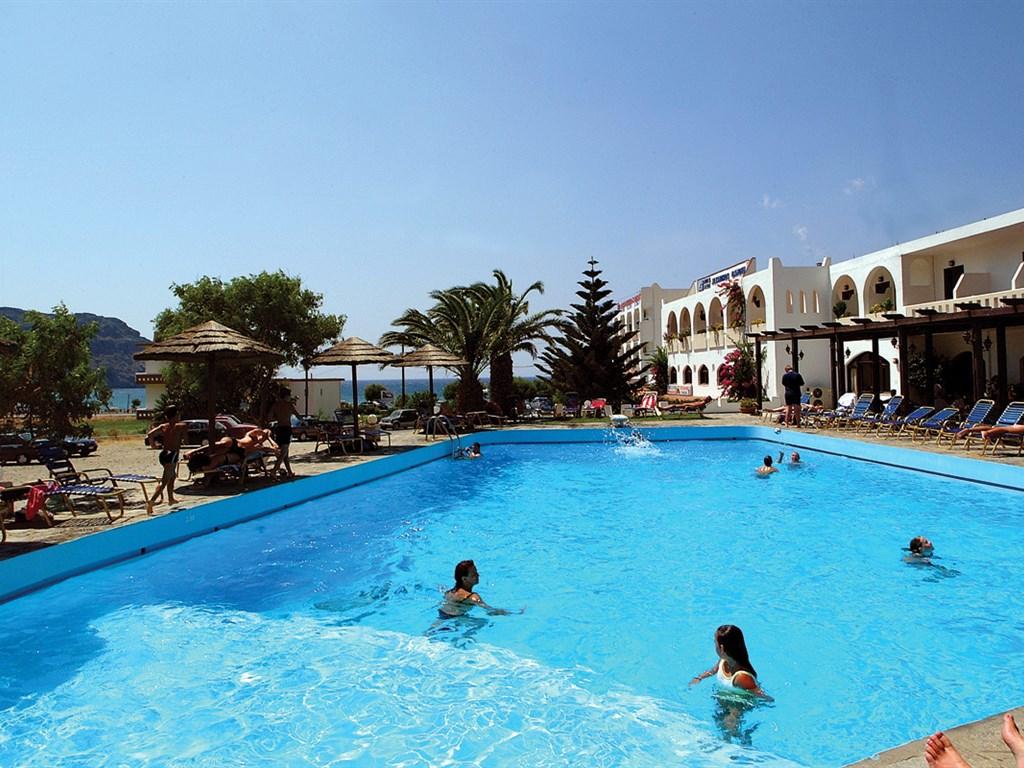 Alianthos Beach Hotel: Pool