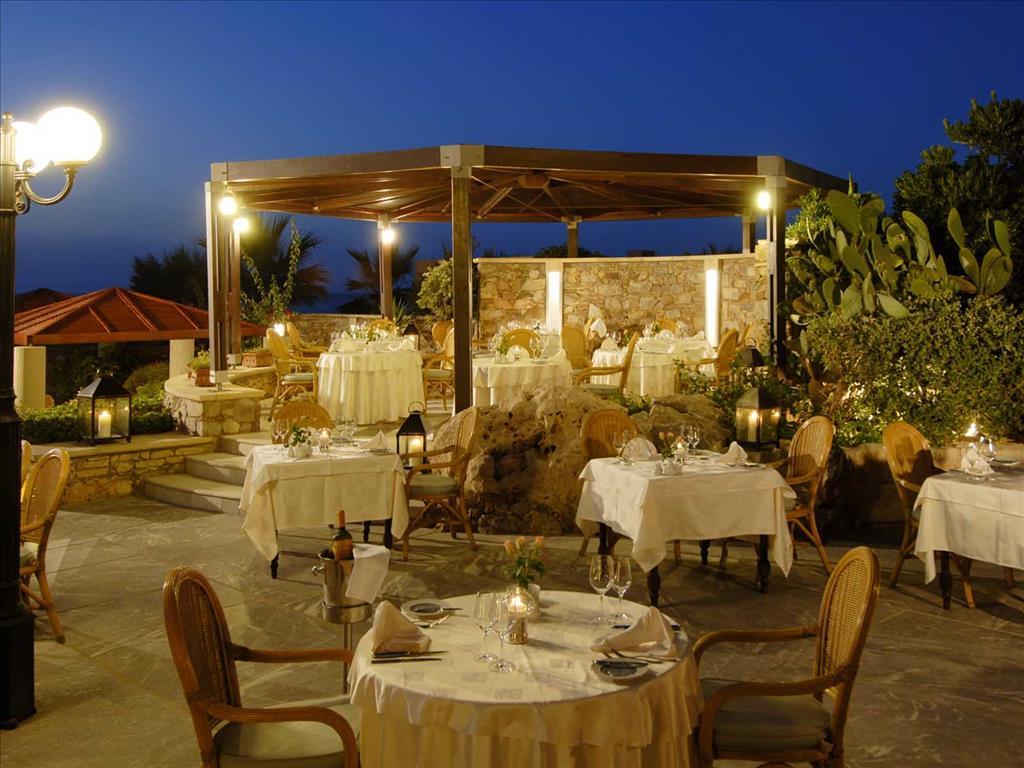 Aquila Rithymna Beach Hotel: Restaurant a la carte Elefterna