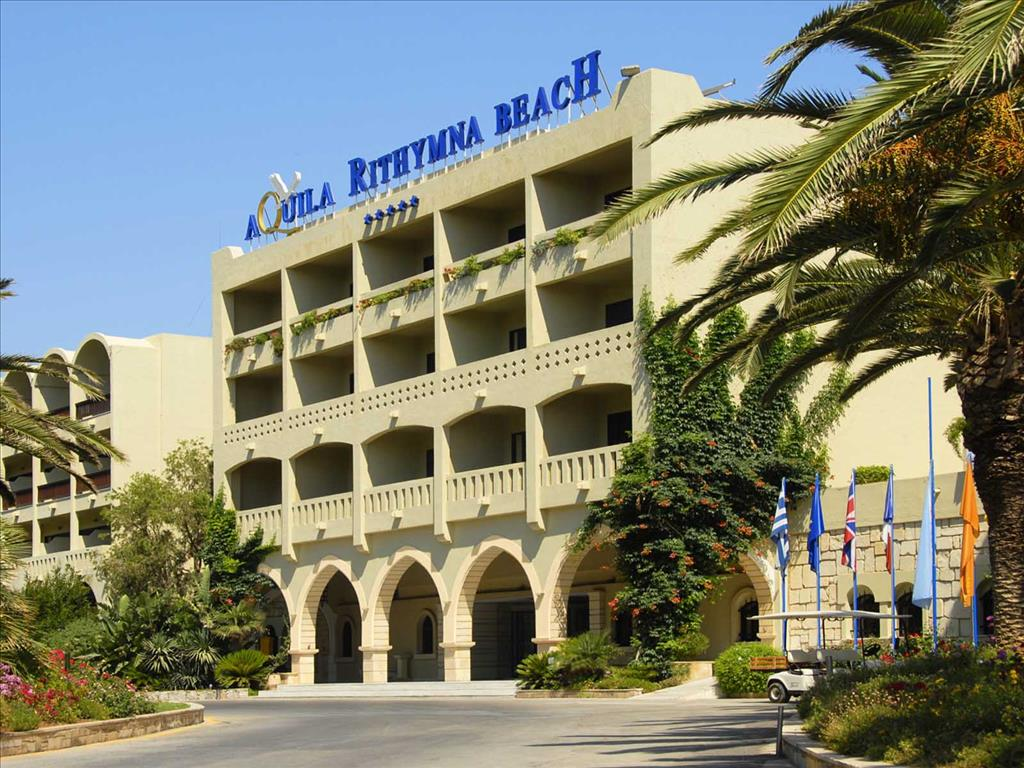 Aquila Rithymna Beach Hotel: Entrance