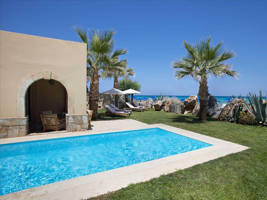 Aquila Rithymna Beach Hotel: Private pool in villa