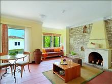 Corfu Chandris Hotel & Villas : Villa living room