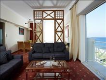 Rodos Palladium Leisure & Wellness Hotel: Suite Sea View