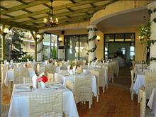 Strofades Beach Hotel: Restaurant