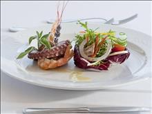 Mareblue Apostolata Resort & Spa: Gourmet