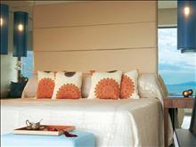 Amirandes Grecotel Exclusive Resort: Luxury Room Sleeping Area