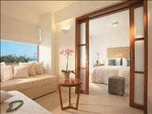 Amirandes Grecotel Exclusive Resort: Family Suite Master Bedroom & Living Area