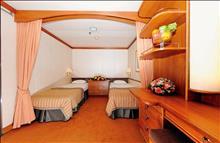 Celectyal Cruise Cristal 7 Nights: каюта ID 2 кровати